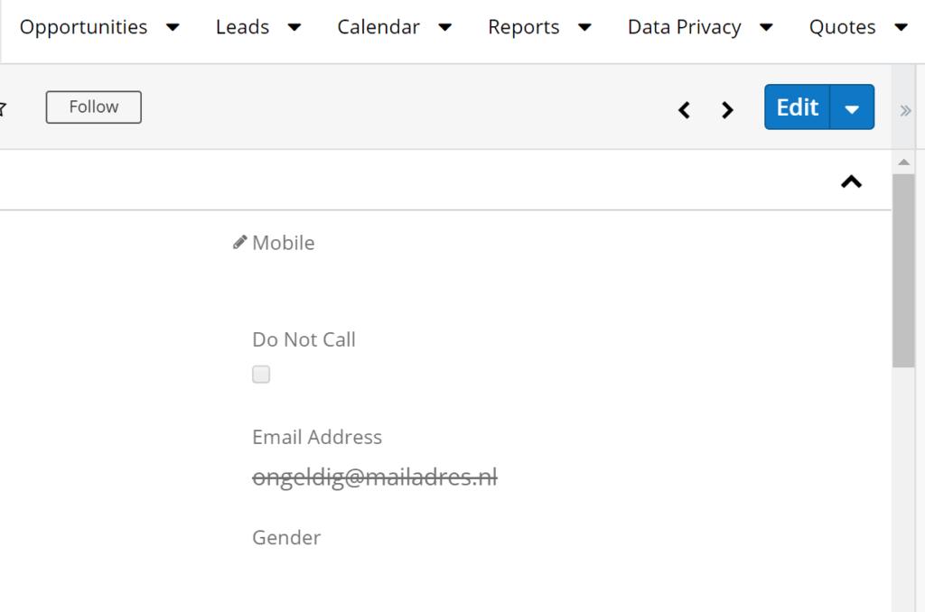 invalid mail